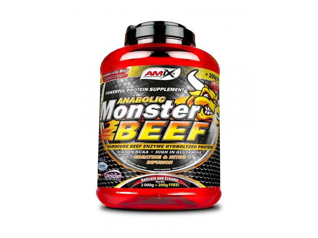 amix anabolic monster beef opinie